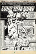 Original Comic Art:Splash Pages, George Tuska and Vince Colletta Iron Man #78 Splash Page 1 Original Art (Marvel, 1975)....