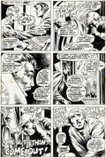 Original Comic Art:Panel Pages, Barry Windsor-Smith and Frank Brunner Marvel Premiere #4Page 27 Original Art (Marvel, 1972)....