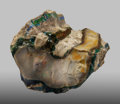 Minerals:Cabinet Specimens, Opalized Wood. Virgin Valley. Humboldt County.Nevada, USA. 4.43 x 3.63 x 3.61 inches (11.25 x 9.22 x9.16 cm)...
