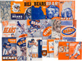 Football Collectibles:Programs, 1938-67 Chicago Bears Media Guides Lot of 21....