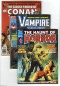 Bronze Age (1970-1979):Horror, Horror Group (Marvel, 1973-75) Condition: Average VF/NM. Nine-issuegroup features Vampire Tales #6 (first appearance of... (9 ComicBooks)