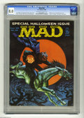 """Magazines:Mad, Mad #59 (EC, 1960) CGC VF 8.0 Off-white to white pages. Halloweenissue. """"Lassie"""" TV parody. """"The Parent"""" book spoof. Frank ..."""