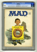 Magazines:Mad, Mad #90 (EC, 1964) CGC VF+ 8.5 Off-white to white pages. NormanMingo cover. Frank Frazetta back cover. Don Martin, Mort Dru...
