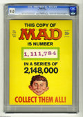 Magazines:Mad, Mad #123 (EC, 1968) CGC VF/NM 9.0 Off-white to white pages.Manufactured with one of three fake serial numbers on the cover....