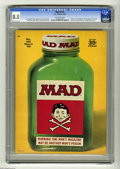"Magazines:Mad, Mad #125 (EC, 1969) CGC VF+ 8.5 Off-white pages. ""2001: A Space Odyssey"" movie spoof. Comic strip characters psychoanalyzed...."