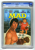 "Magazines:Mad, Mad #194 Gaines File Copy (EC, 1977) CGC VF+ 8.5 Off-white pages.""Rocky"" and ""Laverne and Shirley"" parodies. Jack Rickard c..."