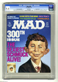 Magazines:Mad, Mad #300 Gaines File Copy (EC, 1991) CGC NM 9.4 White pages. Special Hussein Asylum Edition, only distributed to the troops ...