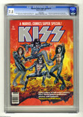 Magazines:Miscellaneous, Marvel Comics Super Special #1 (Marvel, 1977) CGC VF- 7.5 Whitepages. Featuring the rock group Kiss. The ink used to print ...