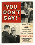 """Memorabilia:Miscellaneous, """"You Don't Say"""" Humor Magazine by Stan Lee (Marvel, 1963)Condition: GD-. This seldom-seen item shows that Stan Lee waswrit..."""