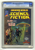 Magazines:Science-Fiction, Unknown Worlds of Science Fiction #1 (Marvel, 1975) CGC NM 9.4Off-white to white pages. Kelly Freas and John Romita Sr. cov... (1)
