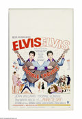 """Movie Posters:Elvis Presley, Double Trouble (MGM, 1967). Window Card (14"""" X 22""""). """"Dames, diamonds, discotheques and danger"""" highlight this swinging Elvi... (1 )"""