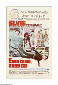 "Easy Come Easy Go (Paramount, 1967). Window Card (14"" X 22""). Capturing buried treasure and women's hearts is..."