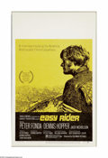 """Movie Posters:Drama, Easy Rider (Columbia, 1969). Window Card (14"""" X 22""""). Dennis Hopperdirected this independent production on a shoestring bud... (1 )"""