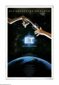 "Movie Posters:Science Fiction, E.T. The Extraterrestrial (Universal, 1982). One Sheet (27"" X 41"").Offered here is an original poster for this sci-fi adven... (1 )"