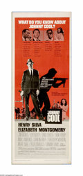 "Movie Posters:Crime, Johnny Cool (United Artists, 1963). Insert (14"" X 36""). Offeredhere is an original poster for this crime drama starring Hen... (1)"
