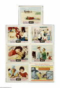 """Movie Posters:Adventure, Legend of the Lost (United Artists, 1957). Lobby Cards (7) (11"""" X14""""). Offered here are seven original lobby cards for this... (7items)"""