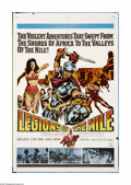 "Movie Posters:Adventure, Legions of the Nile (20th Century Fox, 1960). One Sheet (27"" X41""). Offered here is an original poster for this sword and s... (1)"