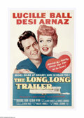 "Movie Posters:Comedy, The Long, Long Trailer (MGM, 1954). One Sheet (27"" X 41""). LucilleBall and Desi Arnaz were at the height of their TV fame w... (1 )"