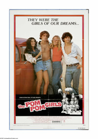 "The Pom Pom Girls (Crown-International, 1976). One Sheet (27"" X 41""). Offered here is an original poster for t..."