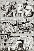 Original Comic Art:Panel Pages, Jack Kirby and Mike Royer Eternals #8 Story Page 16 OriginalArt (Marvel, 1977)....