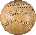Autographs:Baseballs, 1927 New York Yankees Team Signed Baseball, PSA/DNA VG-EX+ 4.5.....