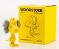 Fine Art - Sculpture, American:Contemporary (1950 to present), KAWS X Peanuts. Woodstock, 2012. Painted cast vinyl. 6 x 5 x4-1/2 inches (15.2 x 12.7 x 11.4 cm). Stamped on the unders...