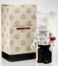 Fine Art - Sculpture, American:Contemporary (1950 to present), BE@RBRICK. Yellow Magic Orchestra 1000%, 2007. Painted castresin. 28-1/4 x 13-1/2 x 9 inches (71.8 x 34.3 x 22.9 cm). S...