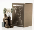 Fine Art - Sculpture, American:Contemporary (1950 to present), KAWS (American, b. 1974). Companion-Passing Through (Brown),2013. Painted cast vinyl. 11-7/8 x 6-1/2 x 7-5/8 inches (30...