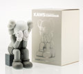 Fine Art - Sculpture, American:Contemporary (1950 to present), KAWS (American, b. 1974). Companion-Passing Through (Grey),2013. Painted cast vinyl. 11-7/8 x 6-1/2 x 7-5/8 inches (30....