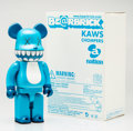 Fine Art - Sculpture, American:Contemporary (1950 to present), KAWS X BE@RBRICK. Chompers 400%, 2003. Painted cast vinyl.10-1/2 x 5-1/4 x 3-1/2 inches (26.7 x 13.3 x 8.9 cm). Stamped...