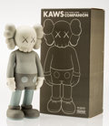 Fine Art - Sculpture, American:Contemporary (1950 to present), KAWS (American, b. 1974). Companion, Five Years Later(Grey), 2004. Painted cast vinyl. 14-3/4 x 6-3/4 x 3-3/4 inches(3...