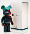 Fine Art - Sculpture, American:Contemporary (1950 to present), BE@RBRICK X Andy Warhol Foundation. Andy Warhol, 2015.Painted cast vinyl. 28-1/4 x 13-1/2 x 9 inches (71.8 x 34.3 x22....