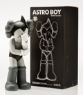 Fine Art - Sculpture, American:Contemporary (1950 to present), KAWS (American, b. 1974). Astro Boy-Kaws Version (Grey),2013. Painted cast vinyl. 15 x 6 x 4 inches (38.1 x 15.2 x 10.2...