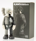 Fine Art - Sculpture, American:Contemporary (1950 to present), KAWS (American, b. 1974). Dissected Companion (Grey), 2006.Painted cast vinyl. 14-3/4 x 6 x 3-1/2 inches (37.5 x 15.2 x...