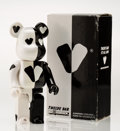 Fine Art - Sculpture, American:Contemporary (1950 to present), BE@RBRICK X G1950. Twelve Bar 400%, 2007. Painted castresin. 10-1/2 x 5-1/4 x 3-1/2 inches (26.7 x 13.3 x 8.9 cm).Stam...