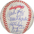 Autographs:Baseballs, 1996 New York Yankees Signed Team Baseball.. ...