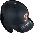Baseball Collectibles:Others, 1998 Tony Gwynn Game Worn San Diego Padres Helmet with Family Letter.. ...