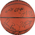 "Basketball Collectibles:Balls, 1992 Summer Olympics ""Dream Team"" Signed Basketball. . ..."