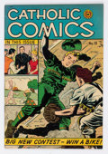 Golden Age (1938-1955):Religious, Catholic Comics #13 Mile High Pedigree (Catholic Publications, 1947) Condition: FN....