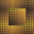 Post-War & Contemporary, Victor Vasarely (1906-1997). Monocolor Yellow/Yellow, 1971.Collage multiple with luran on metal. 39-1/2 x 39-1/2 inches...