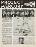 "Explorers:Space Exploration, Mercury Seven Astronauts: NASA ""Project Mercury"" Publication Signed by All Next to Their Photos, with Novaspace COA. ..."