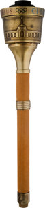 Olympic Collectibles:Autographs, 1984 Los Angeles Summer Olympics Torch with Original Pouch & Instructions. . ...