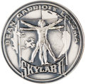 Explorers:Space Exploration, Skylab II (SL-3) Unflown Silver Robbins Medallion, Serial Number 154, Originally from the Personal Collection of Mission Comma...