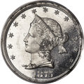 Patterns, 1875 20C Sailor Head Twenty Cents, Judd-1394, Pollock-1537, High R.7, PR63 PCGS....