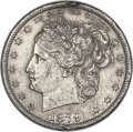 Patterns, 1879 50C Washlady Half Dollar, Judd-1598A, Pollock-1793, Unique -- Damaged -- ANACS. AU Details, Net PR40. ...