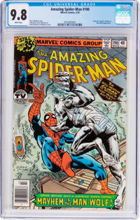 The Amazing Spider-Man #190 (Marvel, 1979) CGC NM/MT 9.8 White pages