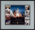 Explorers:Space Exploration, Space Shuttle Columbia (STS-1) Crew-Signed 25th Anniversary Limited Edition Color Print, in Framed Display....
