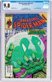 The Amazing Spider-Man #311 (Marvel, 1989) CGC NM/MT 9.8 White pages