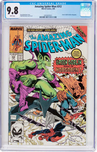 The Amazing Spider-Man #312 (Marvel, 1989) CGC NM/MT 9.8 White pages