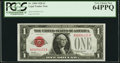 Small Size, Fr. 1500 $1 1928 Legal Tender Note. PCGS Very Choice New 64PPQ.. ...